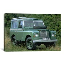 Cars and Motorcycles Landrover Series Lii Photographic Print on Canvas