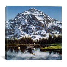 """Mountain Majesty"" Canvas Wall Art by John Van Straalen"