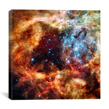 R136 Star Cluster (Hubble Space Telescope) Canvas Wall Art