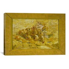 'Quinces, Lemons, Pears, and Grapes' by Vincent Van Gogh Painting Print on Canvas