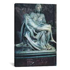 'Pieta' by Michelangelo Photographic Print on Canvas