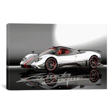 Cars and Motorcycles Pagani Zonda Cinque Photographic Print on Canvas