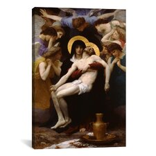 'Pieta 1876' by William-Adolphe Bouguereau Painting Print on Canvas