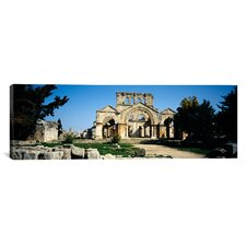 Panoramic St. Simeon the Stylite Abbey, Aleppo, Syria Photographic Print on Canvas