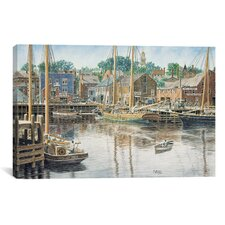 'Old Gloucester' by Stanton Manolakas Painting Print on Canvas