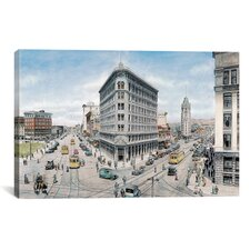 'Oakland' by Stanton Manolakas Painting Print on Canvas