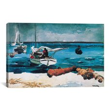 'Nassau 1899' by Winslow Homer Painting Print on Canvas