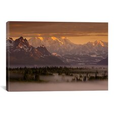 'Moods of Denali' by Dan Ballard Photographic Print on Canvas