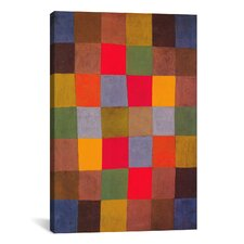 'New Harmony' by Paul Klee Painting Print on Canvas
