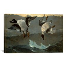 Right and Left by Winslow Homer Painting Print on Canvas