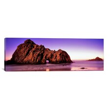 Panoramic 'Pfeiffer Beach, Big Sur, California' Photographic Print on Canvas