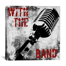 """Rock N Roll (with the Band)"" Canvas Wall Art by Color Bakery"