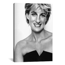 Political 'Princess Diana Portrait' Photographic Print on Canvas