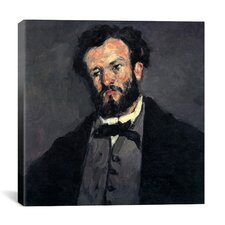 """Portrait of Antony (Anthony) Valabregue"" Canvas Wall Art by Paul Cezanne"