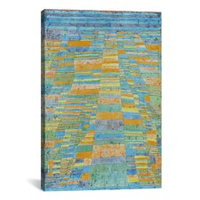 'Primary Route and Bypasses' by Paul Klee Painting Print on Canvas