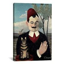 'Portrait De Pierre Loti (Portrait of Monsieur X) 1891' by Henri Rousseau Painting Print on Canvas