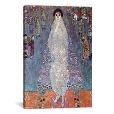 'Portrait of Baroness Elisabeth Bachofen' by Gustav Klimt Painting Print on Canvas