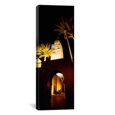 Panoramic Koutoubia Mosque, Marrakesh, Morocco Photographic Print on Canvas