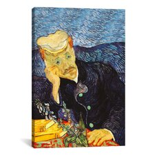 'Portrait of Dr. Gachet' by Vincent Van Gogh Painting Print on Canvas