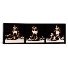 Muhammad Ali Vs. Sonny Liston, 1965 Photographic Print on Canvas in Black