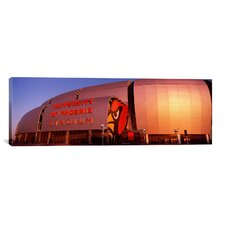 Panoramic 'University of Phoenix Stadium, Glendale, Phoenix, Arizona' Photographic Print on Canvas