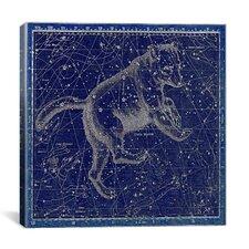 Celestial Atlas - Plate 6 (Ursa Major) by Alexander Jamieson Graphic Art on Canvas in Blue