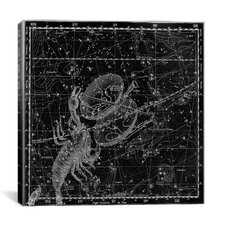 Celestial Atlas - Plate 19 (Libra, Scorpio) by Alexander Jamieson Graphic Art on Canvas in Black