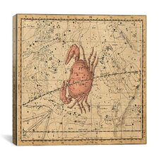 Celestial Atlas - Plate 16 (Cancer) by Alexander Jamieson Graphic Art on Canvas in Beige