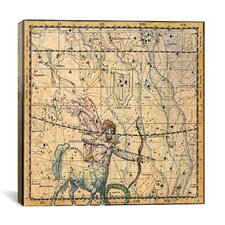 Celestial Atlas - Plate 20 (Sagittarius) by Alexander Jamieson Graphic Art on Canvas in Beige