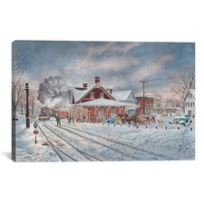 Wilton, NH by Stanton Manolakas Painting Print on Canvas