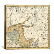 Celestial Atlas - Plate 12 (Pegasus, Equuleus) by Alexander Jamieson Graphic Art on Canvas in Beige