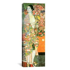 'The Dancer' by Gustav Klimt Painting Print on Canvas
