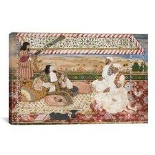 Islamic 'The Darbar of Cornelis Van Den Bogaerde' Painting Print on Canvas