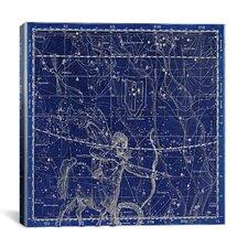 Celestial Atlas - Plate 20 (Sagittarius) by Alexander Jamieson Graphic Art on Canvas in Negative