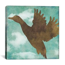 """Winter Lodge (Bird)"" Canvas Wall Art by Color Bakery"