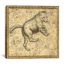 Celestial Atlas - Plate 6 (Ursa Major) by Alexander Jamieson Graphic Art on Canvas in Beige