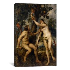 'The Fall of Man' by Peter Paul Rubens Painting Print on Canvas