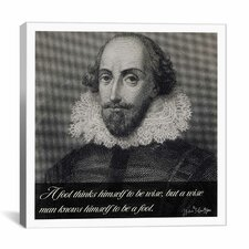 William Shakespeare Quote Canvas Wall Art