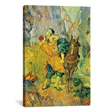 'The Good Samaritan' by Vincent Van Gogh Painting Print on Canvas