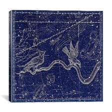Celestial Atlas - Plate 27 (Hydra) by Alexander Jamieson Graphic Art on Canvas in Negative