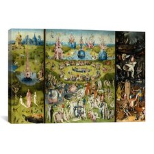 'The Garden of Earthly Delights 1504' by Hieronymus Bosch Painting Print on Canvas