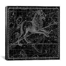 Celestial Atlas - Plate 17 (Leo) by Alexander Jamieson Graphic Art on Canvas in Black