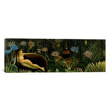 'The Dream Panoramic' by Henri Rousseau Painting Print on Canvas