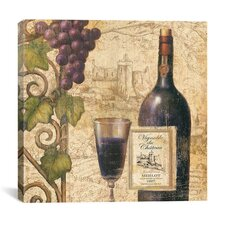 """Wine Tasting III"" Canvas Wall Art by John Zaccheo"