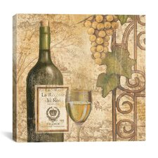 """Wine Tasting IV"" Canvas Wall Art by John Zaccheo"