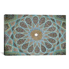 Islamic 'Tomb of Hafez Mosaic' Graphic Art on Canvas