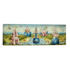 'Top of Central Panel from the Garden of Earthly Delights II' by Hieronymus Bosch Painting Print on Canvas