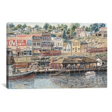 """San Pedro Harbor"" Canvas Wall Art by Stanton Manolakas"