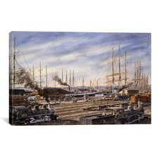 """San Pedro Sunrise"" Canvas Wall Art by Stanton Manolakas"