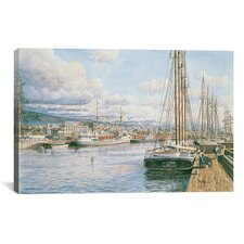 """San Pedro Sunrise, California 1913"" Canvas Wall Art by Stanton Manolakas"
